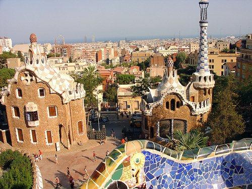 Barcelona, Parque Guell